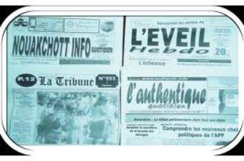 Article : Mauritanie: La presse « pressée »
