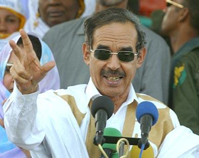 L'ancien président mauritanien, Maaouiya Ould Sid'Ahmed Taya (1984-2005)
