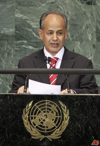 Le Premier ministre mauritanien, Moulay Ould Mohamed Laghdaf
