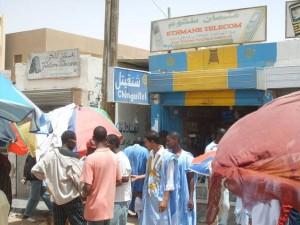 Marché du Portable de Nouakchott (crédit photo : Sneiba Mohamed)