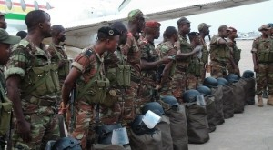 Soldats africains (crédit photo : Saharamédias)