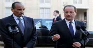 F. Hollande et Aziz (crédit photo: allafrica.com)