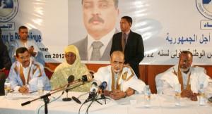Les dirigeants de l'UPR, parti au pouvoir en Mauritanie (crédit photo :futureafrique.net)