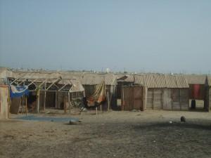 Habitats précaires à Nouakchott (crédit photo: Sneiba Mohamed)