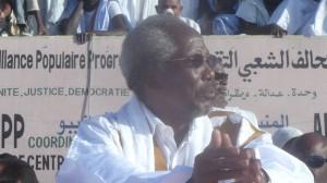 Messaoud Ould Boulkheir, président de l'Assemblée nationale (crédit photo: Elhourriya.net)