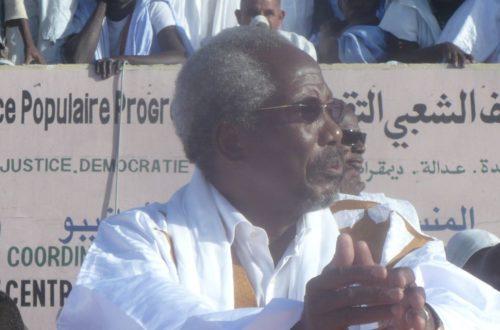 Article : Crise politique en Mauritanie : L'heure de vérité