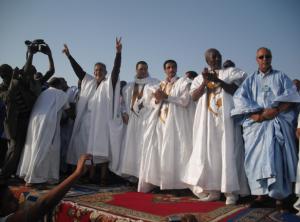 L'opposition au  temps où elle était unie (crédit photo: Taqadoumy.com)