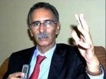 Mohamed Yahya Ould Horma,1er vice-président de l'Union pour la République, parti au pouvoir en Mauritanie.(photo : Rfi)