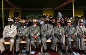 Généraux mauritaniens (Crédit photo : Points chauds).