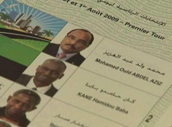 Bulletin unique, élection 2009 en Mauritanie (crédit photo : google.com)