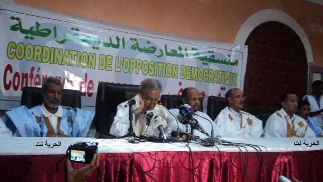 La COD, sans les Islamistes, opte pour le boycott (photo: Elhourriya.net)