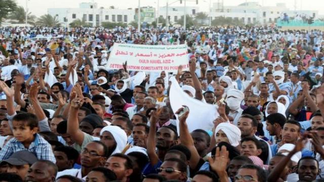 Meeting de l'opposition mauritanienne (photo: Afp)