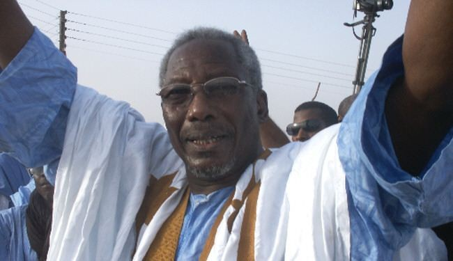 Messaoud O. Boulkheir, président de l'Assemblée nationale en campagne (photo : El hourriya)