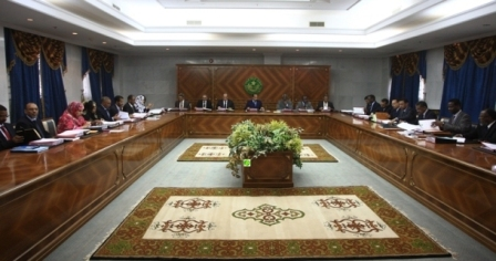 Mauritanie : Conseil des ministres (Photo AMI)
