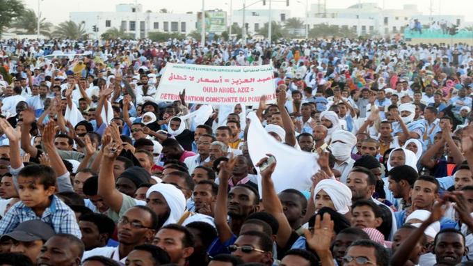 Manifestation de l'opposition (photo : Google)