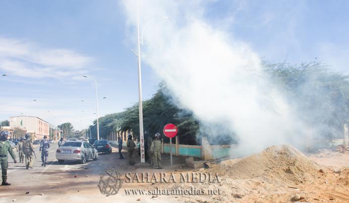 Manifestations à Nouakchott (Photo: Saharamédias)