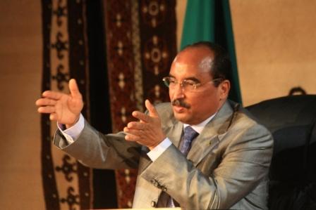 Le président mauritanien Mohamed Ould Abdel Aziz (Photo : Wikipédia)