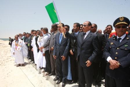 Lancement officiel de la ZF de Nouadhibou par le président Aziz