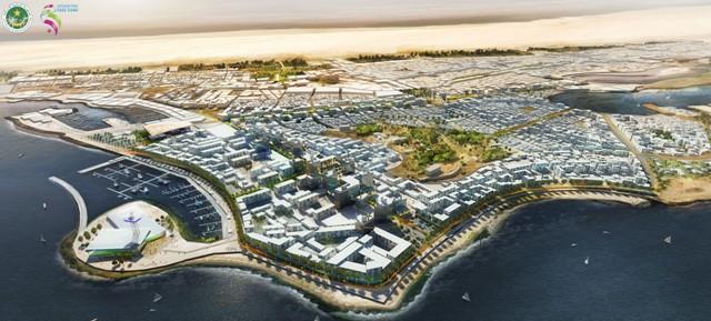 Nouadhibou du futur (Crédit photo : zone franche de Nouadhibou