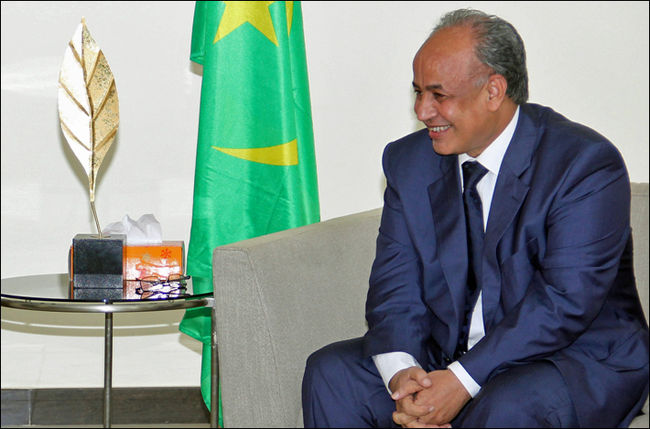 Moulay Mohamed Laghdaf, Premier ministre mauritanien (Photo: Noorinfo)