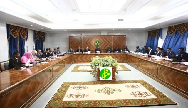 Mauritanie: Conseil des ministres (Photo: AMI)