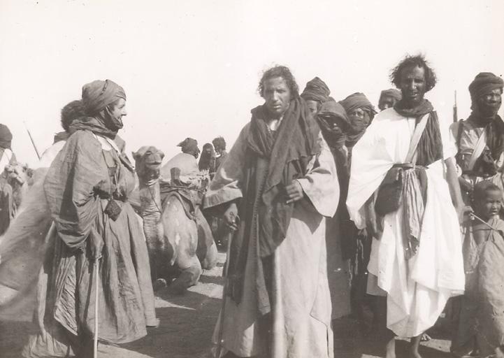 """Lobatt, émir de la tribu guerrière """"Oulad Noghmach"""", Brakna, 1934 (Photo : Archives de Mauritanie)"""