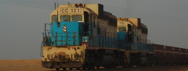 Le train de la Snim, le plus long au monde (Photo Snim)