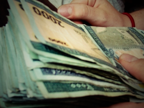 Liasses de billets ouguiyas (Photo : google)
