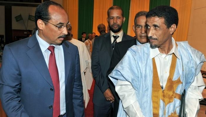 Le président de l'Ufp (opposition) avec le président Aziz