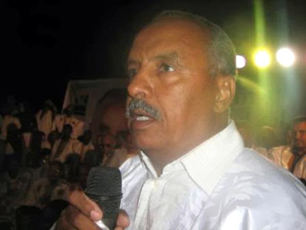 Le colonel à la retraite Cheikh Ould Baya, l'homme fort du ministère des pêches