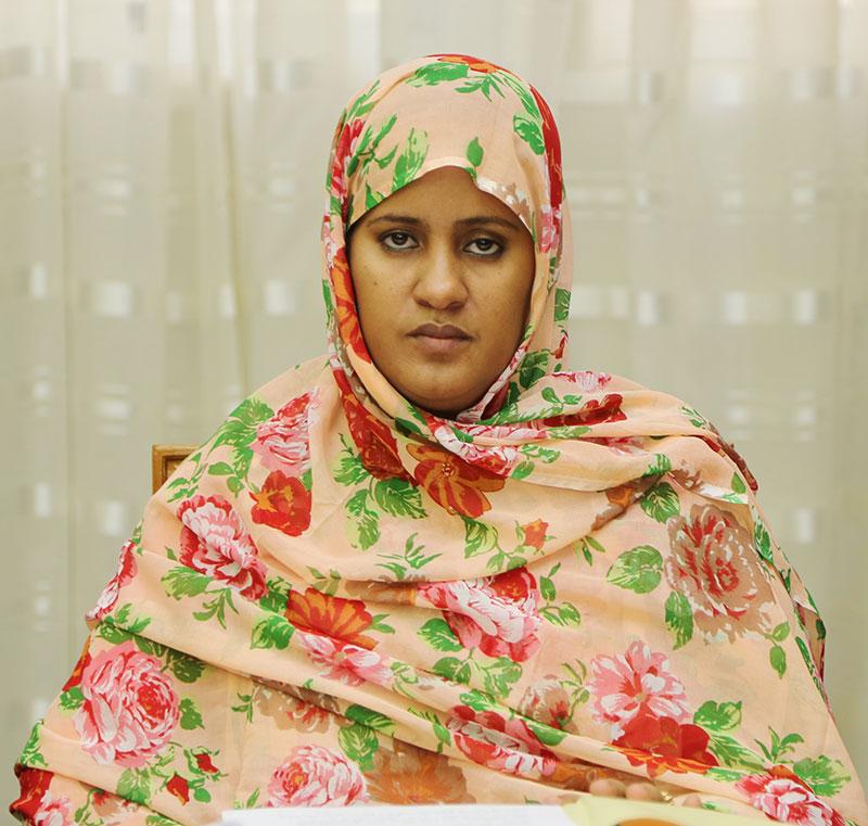 Fatma Vall Mint Soeyne'e,  ministre des Affaires étrangères (Crédit photo : AMI)