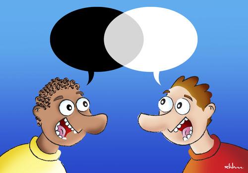 Illusion de dialogue (Crédit photo : toonpool.com)