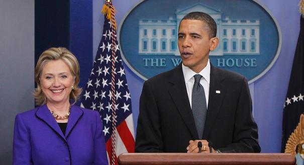 Barack Obama et Hilary Clinton (Photo : google)