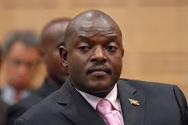 Le président Nkurunziza du Burundi (Photo google)