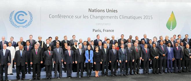 Les chefs d'Etat et de gouvernement à la COP21 (crédit photo: google)