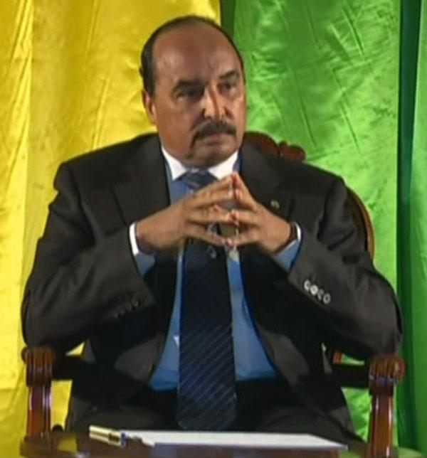 Le président mauritanien Mohamed Ould Abdel Aziz (Photo : AMI)