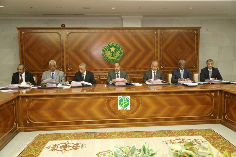 Mauritanie: conseil des ministres (photo : AMI)