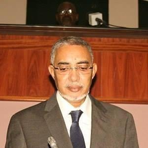 Le Premier ministre Yahya Ould Hademine (crédit photo : la page Facebook du chef du gouvernement