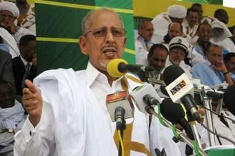 Le président Sidi Mohamed Ould Cheikh Abdallahi, élu en mars 2007, déposé en août 2008