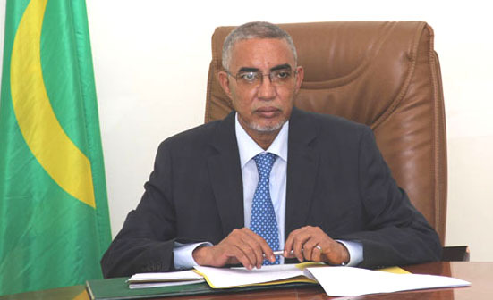 Le Premier ministre Yahya Ould Hademine (Photo : elhourriya)