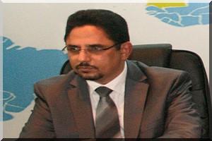 Mohamed Lemine Cheikh, ministre mauritanien des relations avec le parlement (photo: cridem)