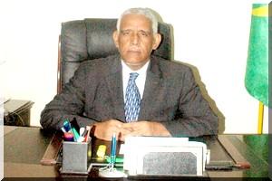 Brahim Ould Daddah, ministre mauritanien de la Justice