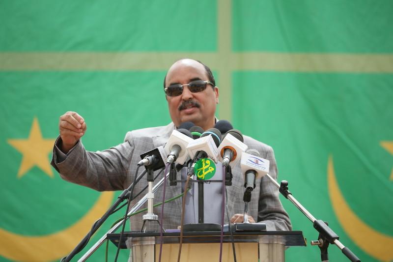 Le président Aziz (photo : AMI)