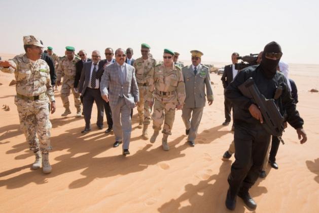 """Aziz sur le """"front"""" de guerre contre le terrorisme (photo : noorinfo)"""