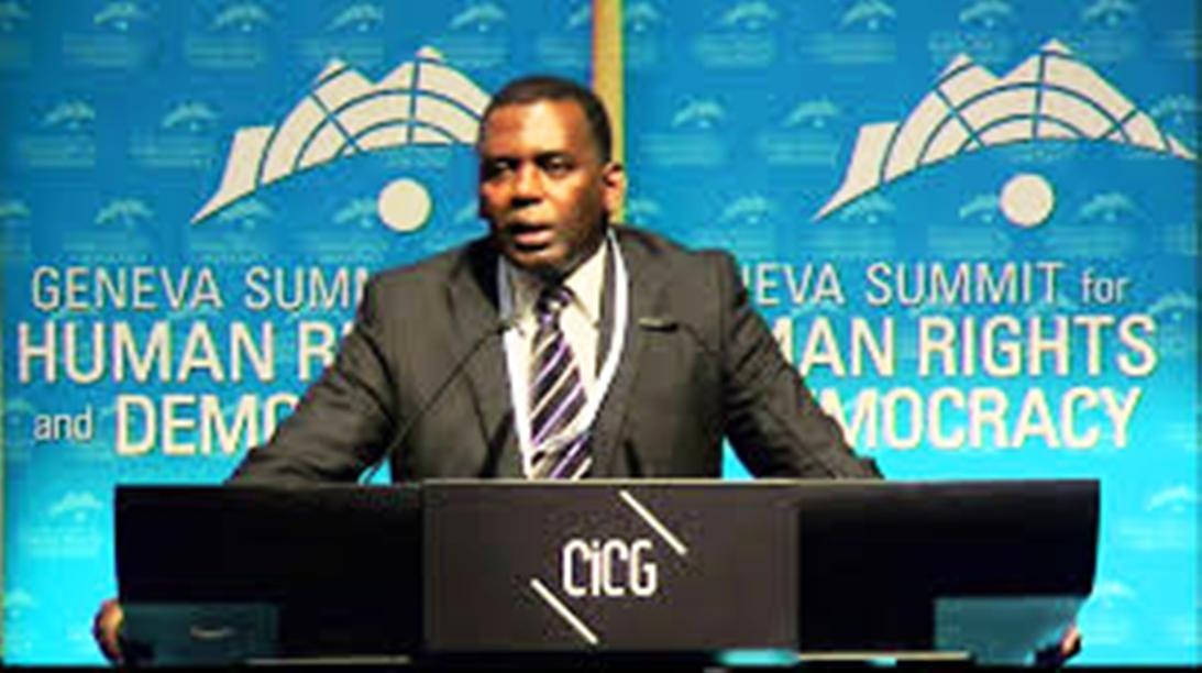 Biram Dah Abeid, président d'IRA (Photo google)