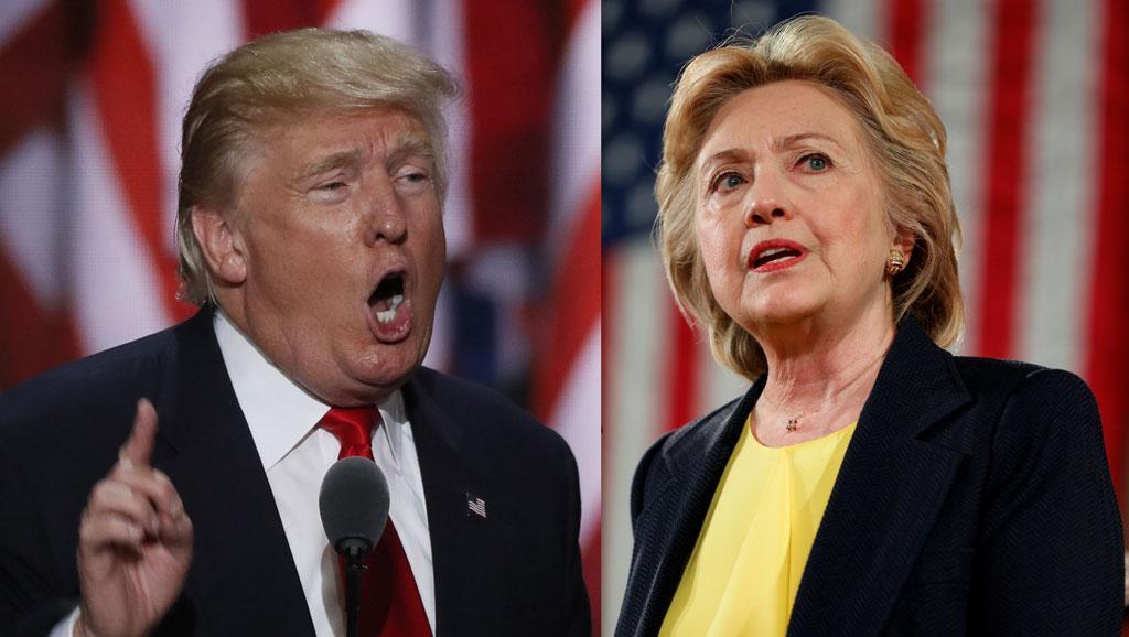 Les deux candidats à l'élection présidentielle américaine Hillary Clinton et Donald Trump. RFI/ REUTERS/
