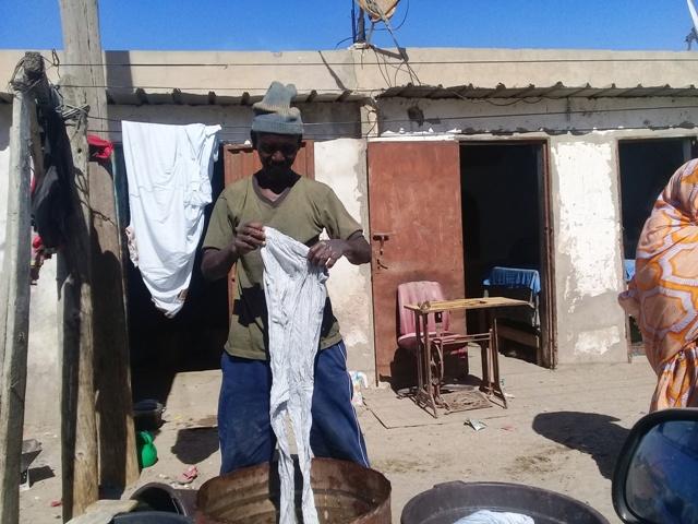 Ethman, de la terminale à la blanchisserie (photo : Sneiba)
