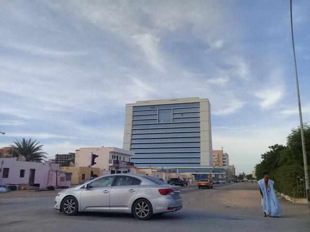Le nouveau siège de la SNIM (photo Sneiba)